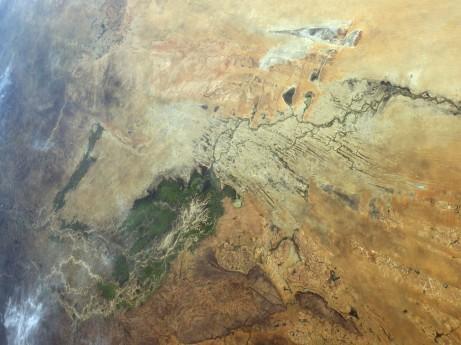 Niger River Delta. Courtesy of NASA